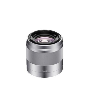 Sony E 50mm f1.8 OSS Lens (Silver)