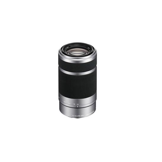 Sony E 55-210mm f4.5-6.3 OSS Lens (Silver)