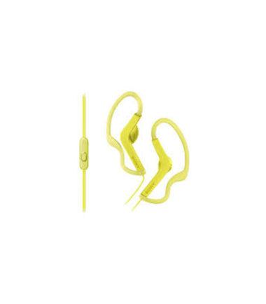 Sony MDR-AS210AP Earphone Yellow