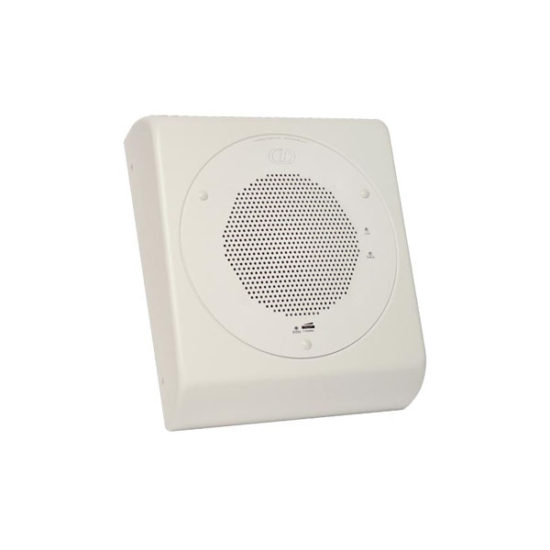 VoIP Wall Mount Adapter for Ceiling Speaker - Signal White