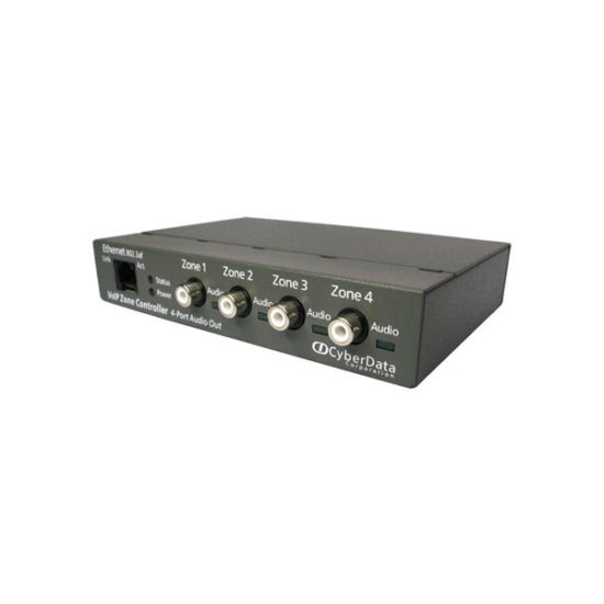 VoIP Zone Controller 4 Port line level audio out