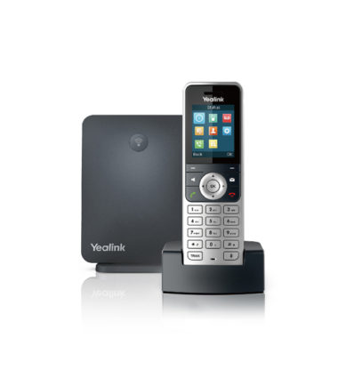 Wireless DECT Solution including W60B Base Station and 1 W53H Handset