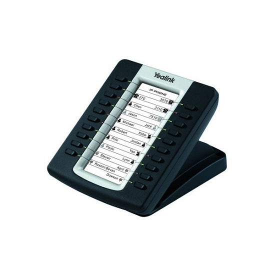 Yealink expansion board for SIP-T27P/SIP-29G, LCD screen, 20 Dual LED's. Supports up to 6 units