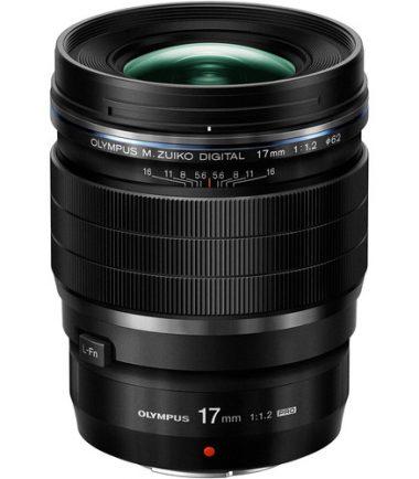 Olympus M.Zuiko ED 17mm F/1.2 Black (Retail Packing)