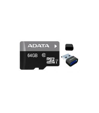 ADATA MicroSDXC Class 10 (64GB, OTG Reader)