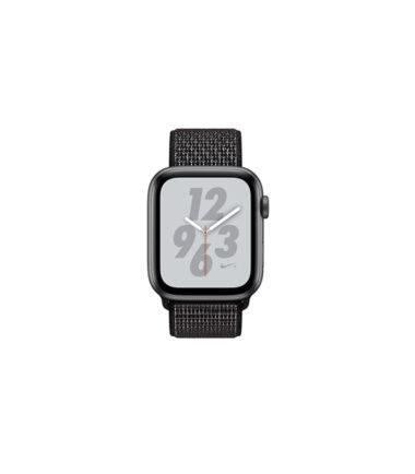 Apple Watch Nike+ Series 4 (GPS Only, 40mm, Gray Aluminum Case, Black Nike Sport Loop) (MU7G2)