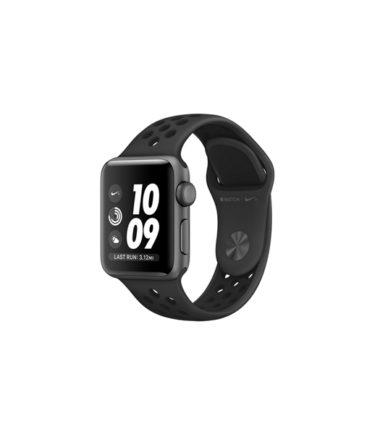 Apple Watch Nike+ Series 4 (GPS Only, 40mm, Space Gray Aluminum, AnthraciteBlack Nike Sport Band, MU6J2)
