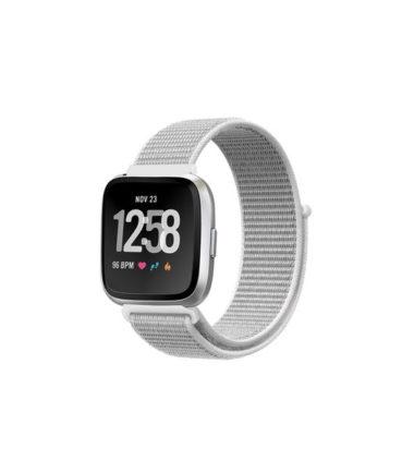 Apple Watch Nike+ Series 4 (GPS Only, 44mm, Silver Aluminum Case, White Sport Loop) (MU7H2)