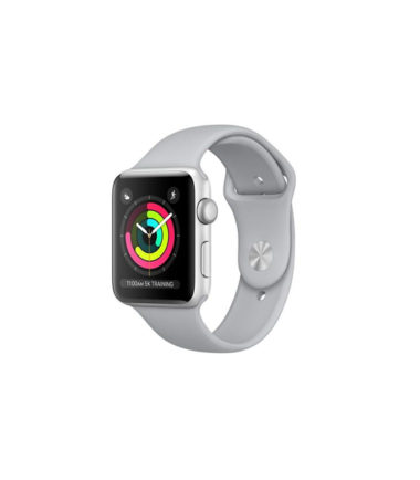 Apple Watch Series 3 42mm Silver Aluminium Case With Fog Sport Band MQL02 (GPS Only)fog