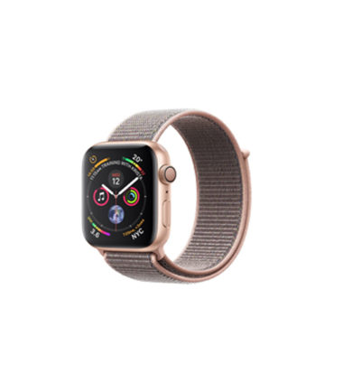 Apple Watch Series 4 40mm Gold Alumnium Case with Pink Sand Sport Band (MTVG2, GPS+Cellular)