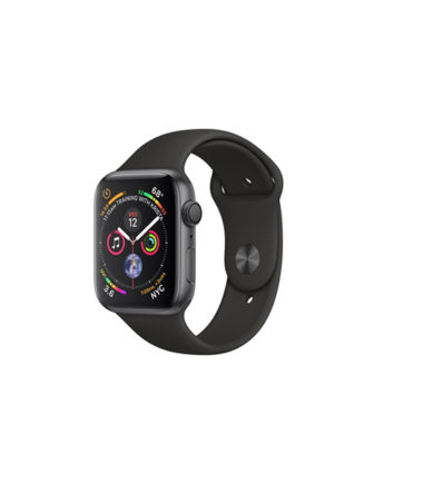 Apple Watch Series 4 Black Sport Band 40mm Space Gray Aluminium (MU662)