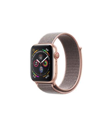 Apple Watch Series 4 Pink Sand Sport Loop 44mm Gold Aluminium (MU6G2)
