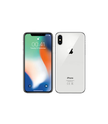 Apple iPhone X (256GB, Silver)