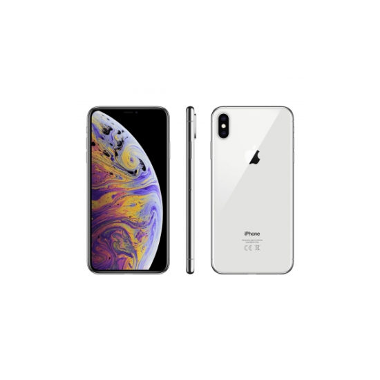 Apple iPhone XS Max (256GB, Silver, Dual SIM)