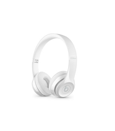 Beats Solo3 Wireless Headphones (Glossy White)