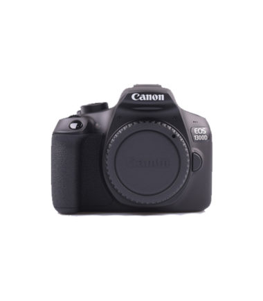 Canon EOS 1300D Kit (18-55mm II) Black
