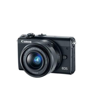 Canon EOS M100 Kit (EF-M 15-45mm STM) Black