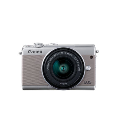 Canon EOS M100 Kit (EF-M 15-45mm STM) Grey