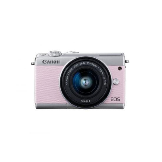 Canon EOS M100 Kit (EF-M 15-45mm STM) Pink