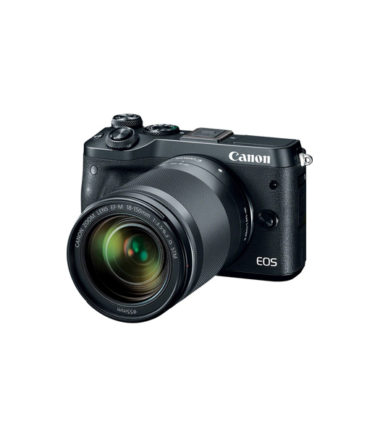 Canon EOS M6 Kit with 18-150mm Lens (Black)