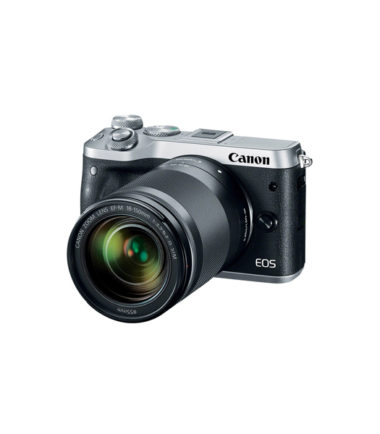 Canon EOS M6 Kit with 18-150mm Lens (Silver)