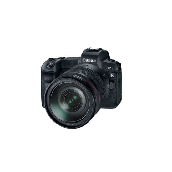 Caon EOS R with RF 24-105mm f4L IS USM Lens Without R Adapter