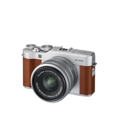 Fujifilm X-A10 Kit with 16-50mm Brown