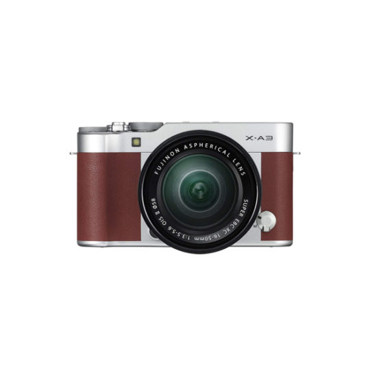 Fujifilm X-A3 Kit with 16-50mm Brown