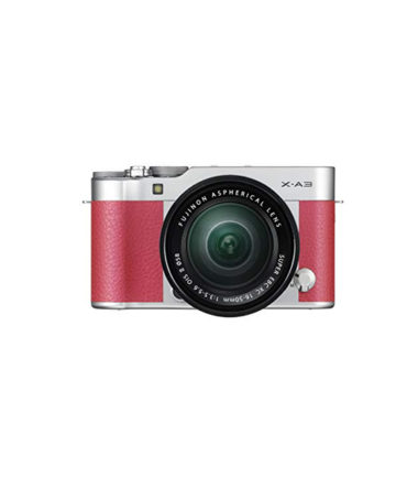 Fujifilm X-A3 Kit with 16-50mm Pink