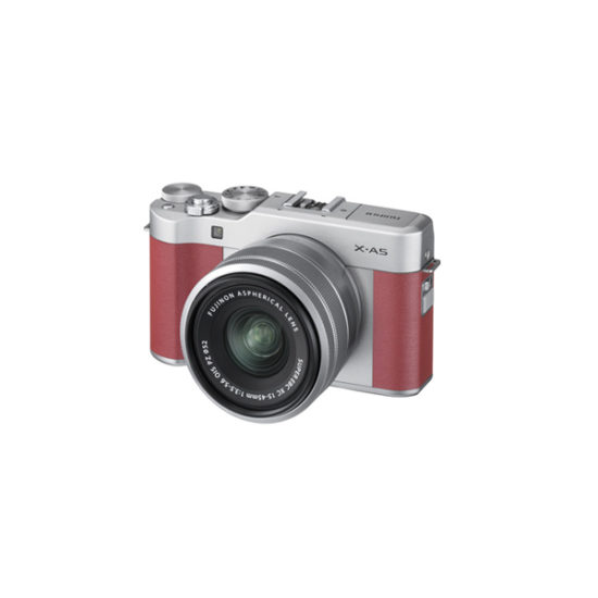Fujifilm X-A5 Kit with 15-45mm Pink