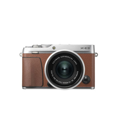 Fujifilm X-E3 Kit (15-45mm) Brown