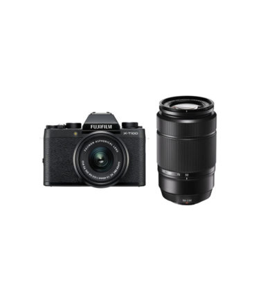Fujifilm X-T100 Kit with 15-45mm Black