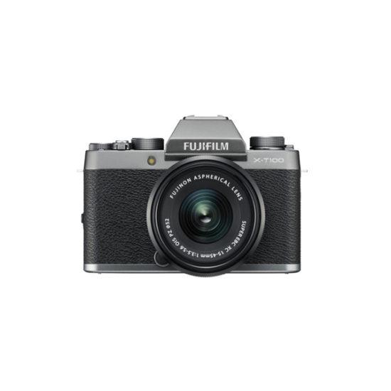 Fujifilm X-T100 Kit with 15-45mm Dark Silver