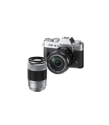 Fujifilm X-T20 Kit with 16-50mm + 50-230mm Silver