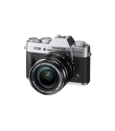 Fujifilm X-T20 Kit with 18-55mm Silver