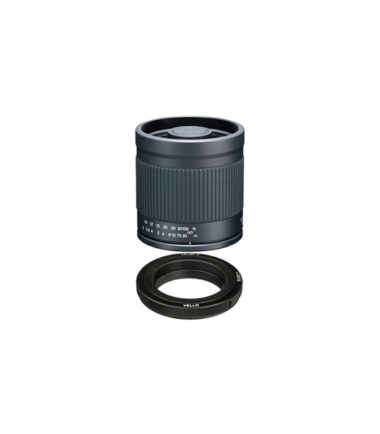 Kenko 400mm F8 lens with T-mount adapter (Fuji X)
