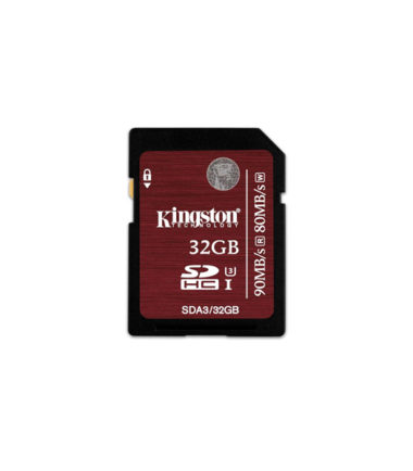 Kingston MicroSDHC 4K (Read90mbs, Write80mbs, 32GB)