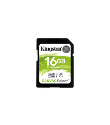 Kingston SDHC (Read 80mbs 16GB)