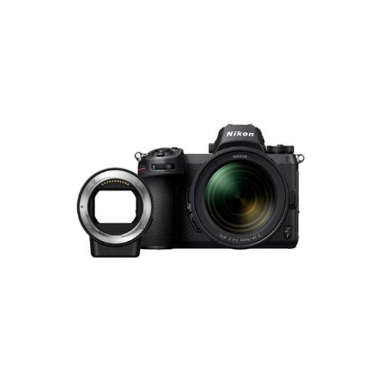 Nikon Z7 + NIKKOR Z 24-70mm f4 S + FTZ Adapter
