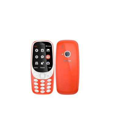 Nokia 3310 2017 TA-1006 DS Dual SIM (3G Version, Red)