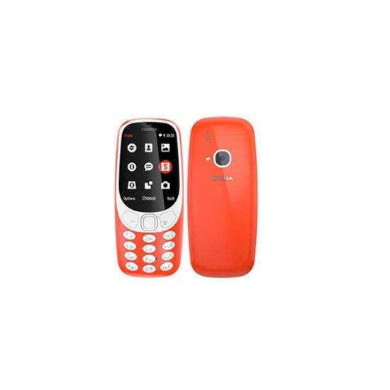 Nokia 3310 2017 TA-1006 DS Dual SIM (3G Version, Red)