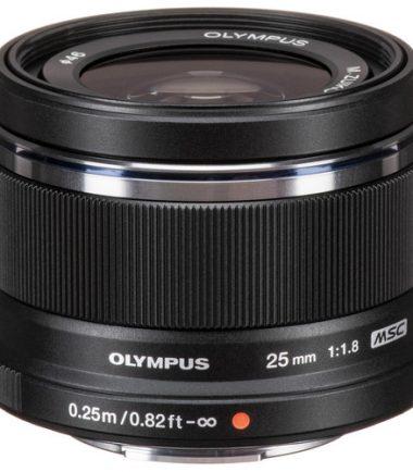 Olympus M.Zuiko 25mm F/1.8 (Black)