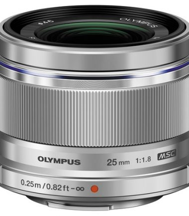 Olympus M.Zuiko 25mm F/1.8 (Silver)