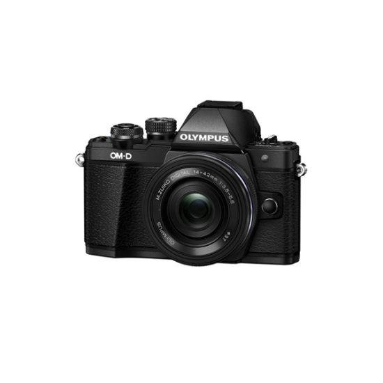 Olympus OM-D E-M10 Mark II Kit (14-42mm EZ Lens) Black
