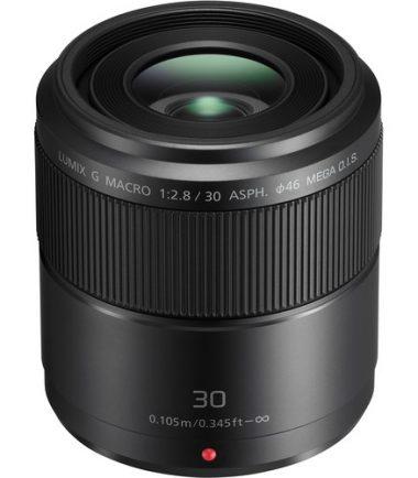 Panasonic LUMIX G 30mm F/2.8 HHS030E Black (Retail Packing)