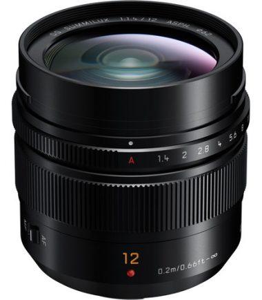 Panasonic Leica DG Summilux 12 F1.4 ASPH HX012 (Black)