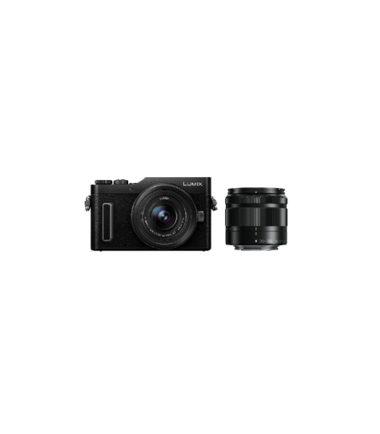 Panasonic Lumix DMC-GF10W Twin Kit (12-32mm, 35-100mm) Black