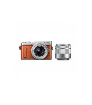 Panasonic Lumix DMC-GF10W Twin Kit (12-32mm, 35-100mm) Orange