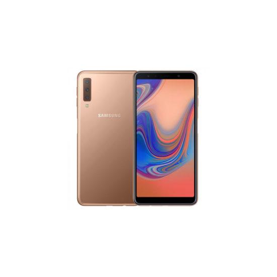 Samsung Galaxy A7 2018 A750F DS (128GB4GB, Gold)