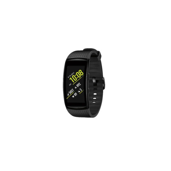 Samsung Gear Fit 2 Pro Fitness Band (Small, Black)